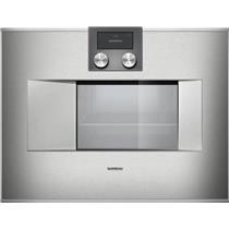 "Gaggeanu 400 Series 24"" Self-Cleaning 1.7 cu. ft. Combi-Steam Oven BS471611"