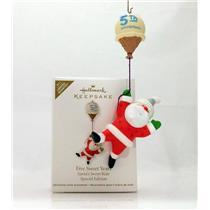 Hallmark Ornament 2011 Five Sweet Years - Santa's Sweet Ride - #QXE3069