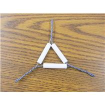 VWR Scientific 10 Piece Clay Iron Wire Triangles (Lot of 3) #62720-020 NEW