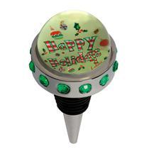 Lolita by Santa Barbara Design Studio Happy Holidays Bottle Stopper - BSTP-5512B