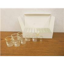 Bomex Scientific Glassware Beakers 50 ml & 2 ml Clear Sample Vials