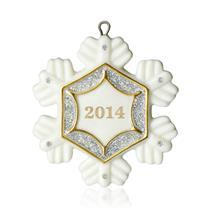Hallmark Miniature Ornament 2014 Little Snowflake - #QXM8533