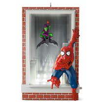 Hallmark Magic Ornament 2016 Slinging and Swinging - Spiderman - #QXI3464