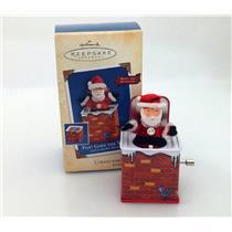 Hallmark Ornament 2004 Jack in the Box Memories #2 - Pop Goes The Santa - QX8411