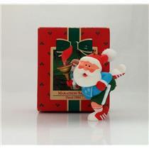 Hallmark Keepsake Ornament 1984 Marathon Santa - Santa Claus - #QX4564-SDB