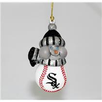 Scottish Christmas Magic Ornament Chicago White Sox Light Up Snowman - #01676