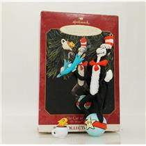 Hallmark Series Ornament 1999 Dr Seuss Books #1 - Cat in the Hat - #QXI6457