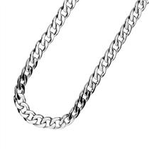 """36"""" Plastic Silver Links Pimp Chain Necklace Gangster Hip Hop Costume Jewelry"""