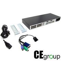 HP Server Console Switch 16-Port KVM 336045-B21 Bundle [56]