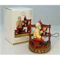 Hallmark Magic Ornament 2012 Once upon a Christmas #2 - Time for Toys QX8174-SDB