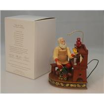 Hallmark Magic Ornament 2012 Once upon a Christmas #2 - Time for Toys #QX8174-DB