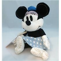 Hallmark Exclusive Plush Disney's Minnie Mouse Blue and White Dress - #DYG9704
