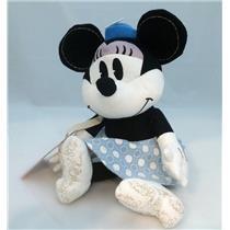 Hallmark Exclusive Plush Disney's Minnie Mouse Blue and White Dress - #DYG9704
