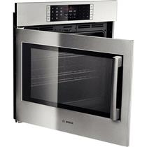 "Bosch Benchmark Series 30""  4.6 cu. ft SS Single Electric Wall Oven HBLP451LUC"