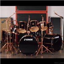 Sonor HiLite Exclusive 10 Piece Copper Drum Kit Set John Tempesta #27721