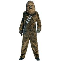 Deluxe Chewbacca Star Wars Adult Halloween Adult Costume Standard Size
