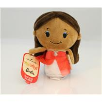 Hallmark 2015 Itty Bitty's Plush Holiday Barbie - African American #KID3395