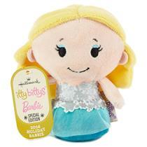 Hallmark Exclusive 2016 Itty Bitty's Plush Holiday Barbie - #KDD1093