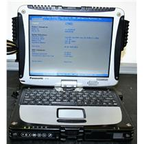 Panasonic ToughBook CF-19 MK3 Core 2 Duo 1.20GHz 2GB 80GB Laptop CF-19KJRC62M