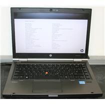 "HP Elitebook 8470w 14"" Core i5 2.8Ghz 4GB 320GB Laptop Notebook"
