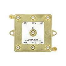 Leviton 47690-G6 1 x 6 5-2150MHz Passive Video 6-Way Splitter for digital cable