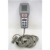 Dukane Model 7A2016 Pillow Speaker TV Remote Medical Hospital Bed Controller