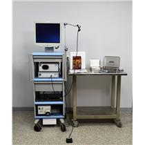Boston Spyglass Endoscopy Cart Visualization System Monitor Pump Camera