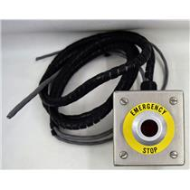 Allen Bradley Button 800T-FXP16 A1 Illuminated Emergency Stop, S.S. EnclosureBox
