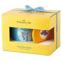 Hallmark Exclusive Wizard of Oz 2016 Brainy Mug with Coaster Set - #WOZ1064