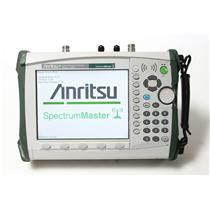 Anritsu MS2721B Spectrum Analyzer 9kHz to 7.1GHz with Opt. 20 Tracking Generator