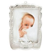 Carlton Heirloom Ornament 2017 Baby's First Christmas - Photo Holder - #CXOR010M