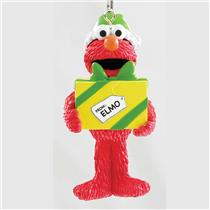 Carlton Heirloom Ornament 2017 Elmo with Present - Sesame Street - #CXOR028M