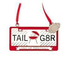 Hallmark Direct Imports Ornament 2015 Tail G8R - Land of Football Plate #DIR1948
