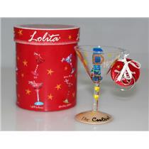 """Lolita Santa Barbara Love My Martini """"#1 Dad"""" Glass Ornament - #ORN2-5512P"""