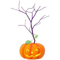 Hallmark 2018 Halloween Miniature Keepsake Ornament Tree With Light - #QFO5255