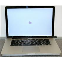 """APPLE MacBook Pro 2.2GHz i7 2nd Gen 15.4"""" MD318LL A1286 Early 2011 SOLD AS IS"""