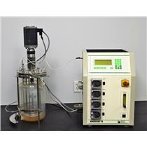 B. Braun Biostat B Fermentation Cell Culture Bioreactor 4 Liter w/ Motor 8840334