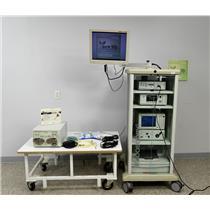 Stryker Endoscopy Cart 1088 Controller X7000 Light 40L Insufflator Flocontrol