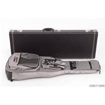 G&G Strat/Tele Hard Case w/ Green Poodle Interior & Gigskinz Gig Bag #29646