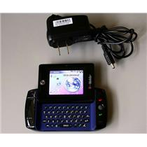 SIDEKICK Slide HipTop GSM Q700 Cell Phone UNLOCKED Blue for Calls & Texting only