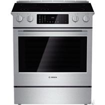 "Bosch Benchmark Series 30"" 5 Elements SelfClean Slide in Electric Range HEIP054U"