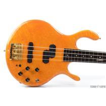 1988 Pedulla Buzz 4-String Fretless Bass Birdseye Maple Bartolini Pickups #29945