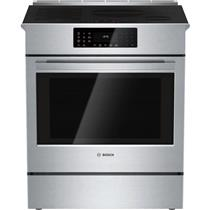 Bosch Benchmark Series 30 Inch Slide-In Induction Range Stainless HIIP055U IMGS