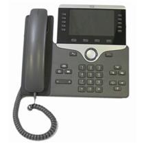 """Cisco CP-8851-K9 5-Line Key 5"""" Color VoIP PoE Gigabit Phone Aux USB Bluetooth"""