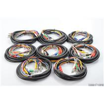 """8 Hosa 1/4"""" TRS & 1/4"""" TS 8 Channel Mixed Studio Insert Snake Cable Lot #29595"""