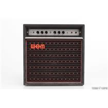 1970's Watkins WEM Dominator Bass Mk I Amplifier 1x15 Combo Amp Celestion #29805