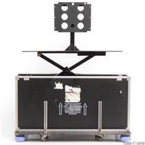 "Road Case for LCD/Plasma TV Screens up to 65"" w/ Hydraulic Lift & Wheels #30213"
