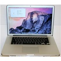 "APPLE MacBook Pro 2.3GHz i7 500GB 8GB RAM El Capitan 15.4"" MD035LL A1286 2011"