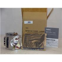 NEC 50015942 LCD Projector Lamp With Filter for MT810 MT1000 New In Box