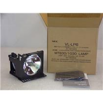 NEC VL-LP6  Replacement Lamp for MT830/ 830+/1030/1030+GT2000 w/ Filter New